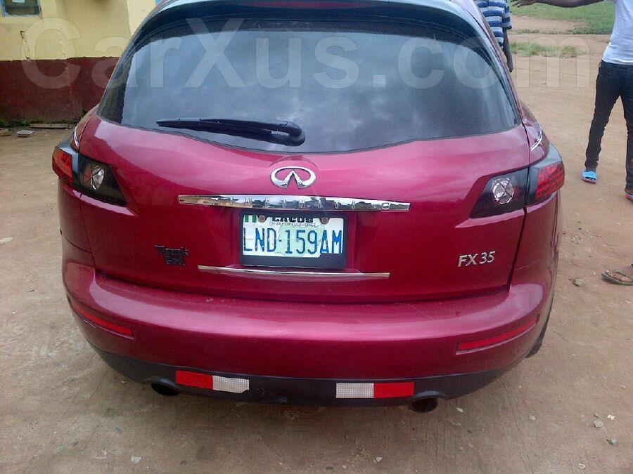 2006 Infiniti Fx35 Buy Used Auto Car Online In Lagos Nigeria